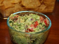 Healthy Chunky Guacamole