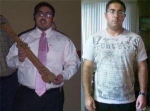 devan fitness training client