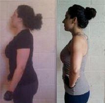 jenn fitness training client