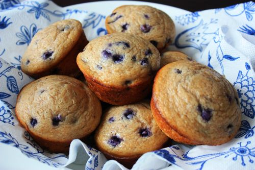 Real Results Inc | Whole Wheat Blueberry Muffins - Real Results Inc