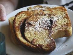 Sweet High Fiber French Toast