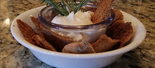 Homemade Garlic Pita Chips!