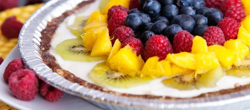 Healthy Fresh Fruit Tart