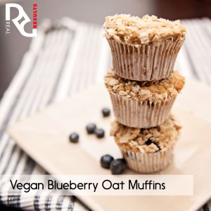 vegan blueberry muffins 1